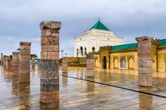Mohammed V:s mausoleum i Rabat
