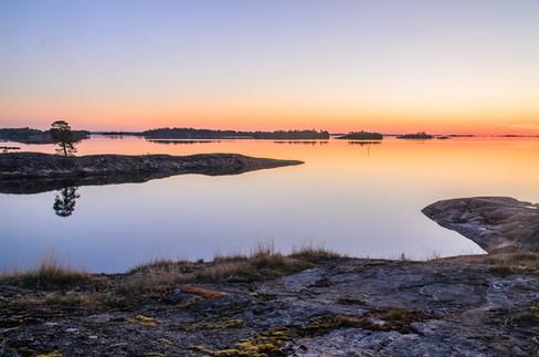 Soluppgång på Risö
