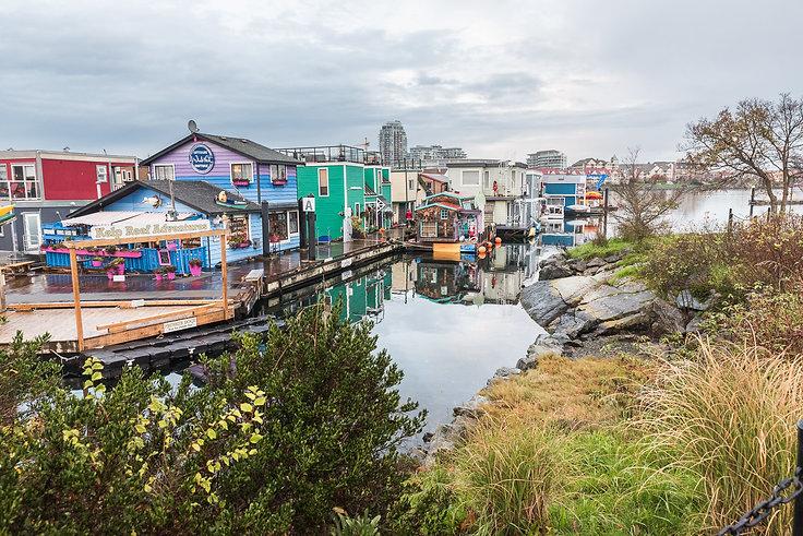 Fisherman's Wharf i Victoria