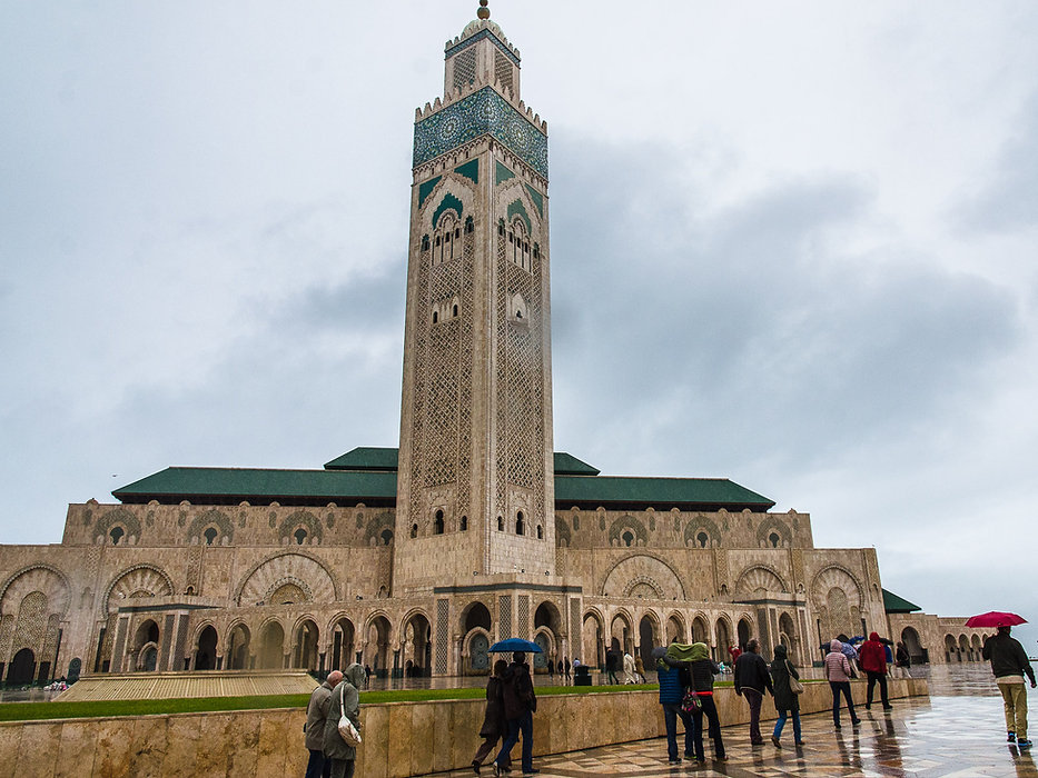 Hassan II-moskén, Casablanca