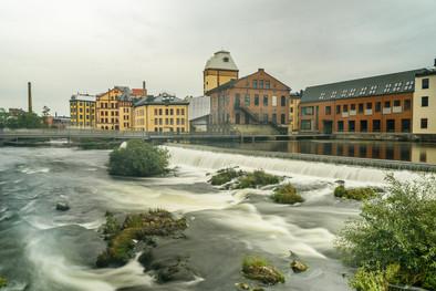Motala ström i Norrköping