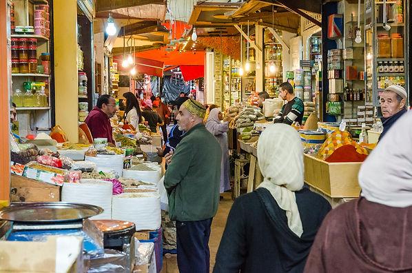Meknes marknad