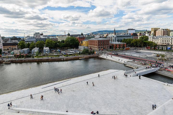 Oslo från Operahuset