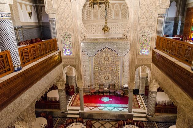 Restaurang i Fez