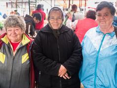 Women on Saturday market in Gheorgheni