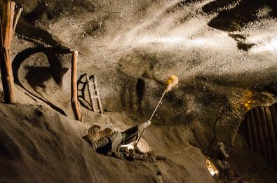 Saltgruvan i Wieliczka, Polen