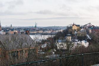 Stockholm från Skinnarviksberget