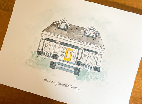 A painted house and a request