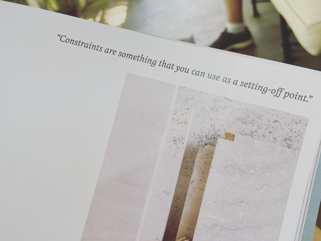The beauty of constraints