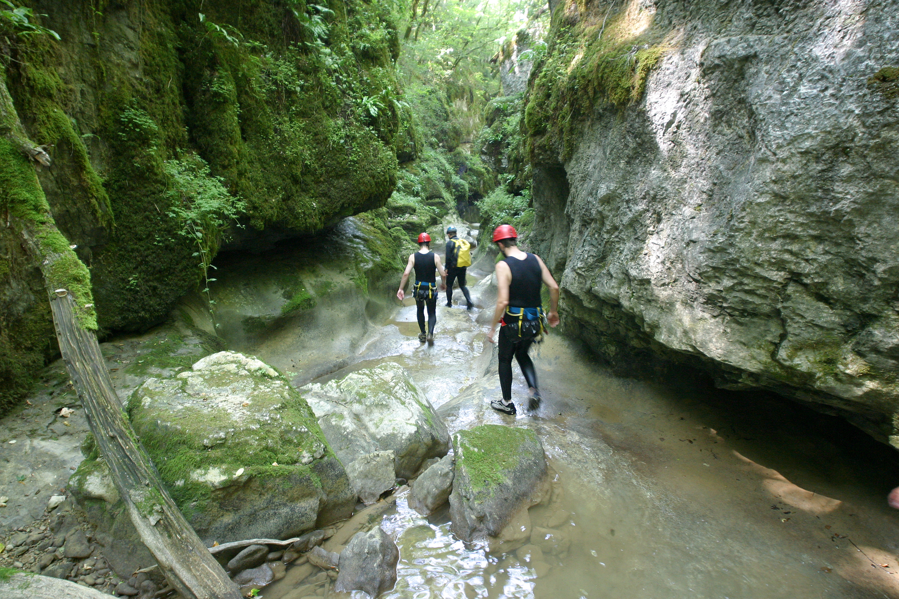 canyoning Amondans