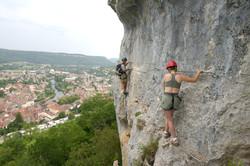 Via Ferrata au-dessus d'Ornans