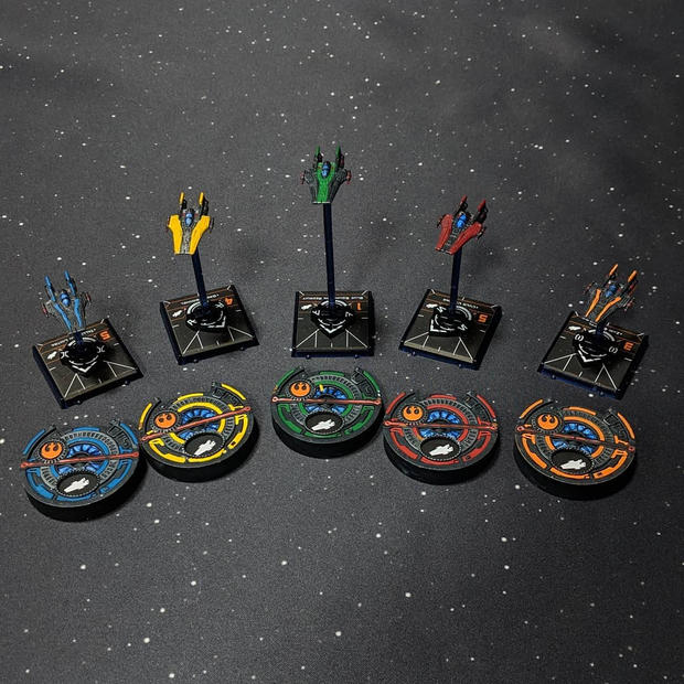 Stealth RZ-2 A-wing Squadron