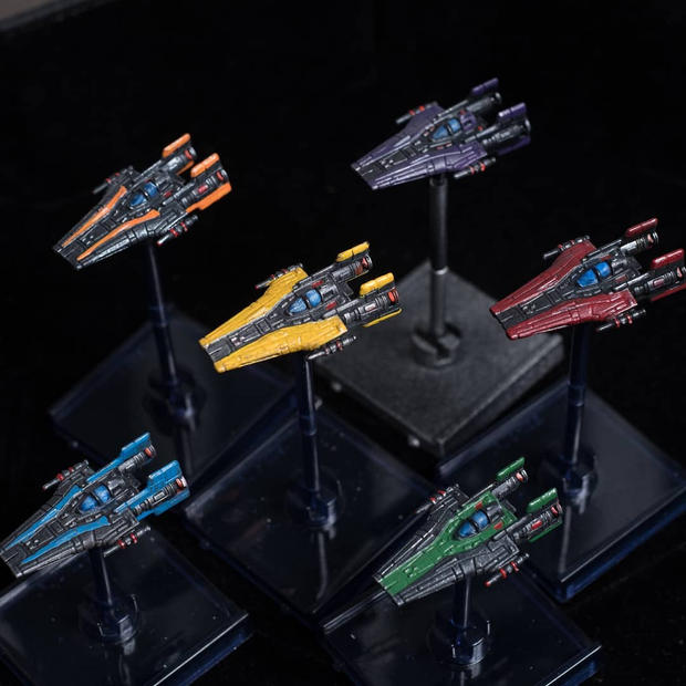 RZ-2 A-Wing Squadron