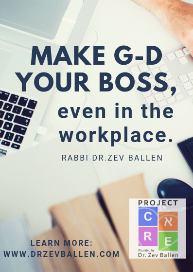 Make G-D your Boss