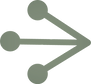 The AND implementation logo, which is an arrow pointing right