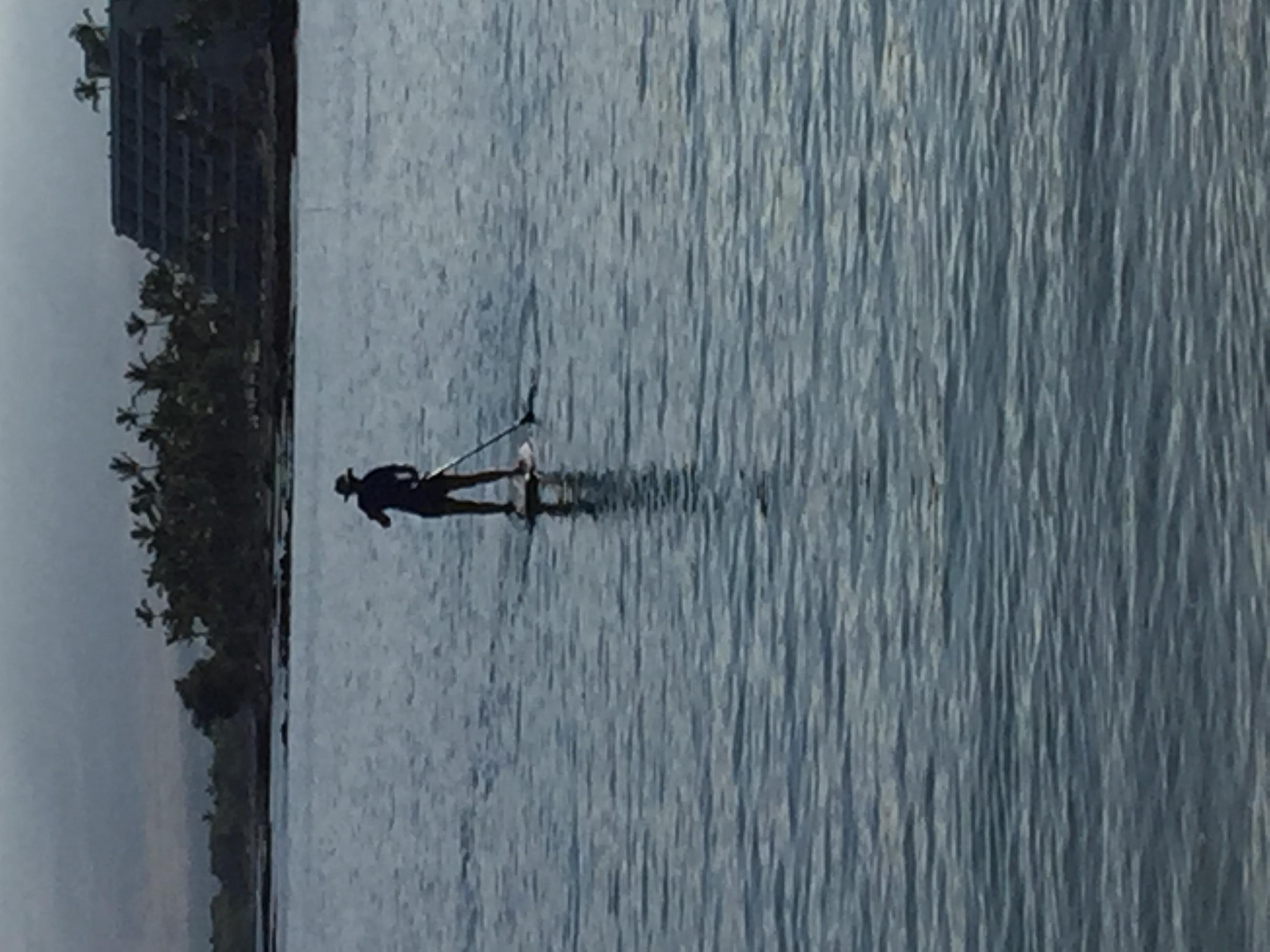 Makaiwa Bay paddler