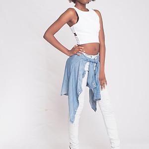 Denim & White PhotoShoot
