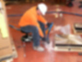 Joint stabilization in factory floor