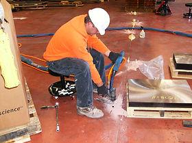 Joint stabilization in factory floor