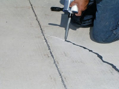 Crack repair.