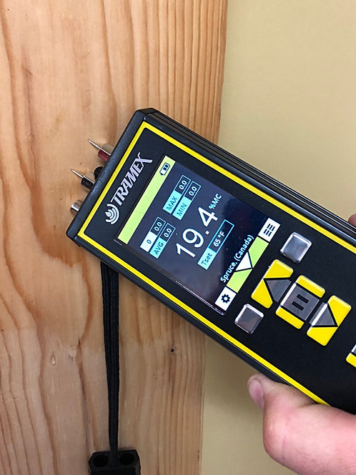 Tramex Moisture Meter /  Compteur d'humidité Tramex
