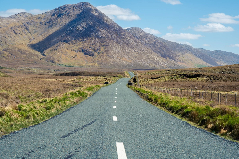 Connemara, Kylemore Abbey, Doolough Pass