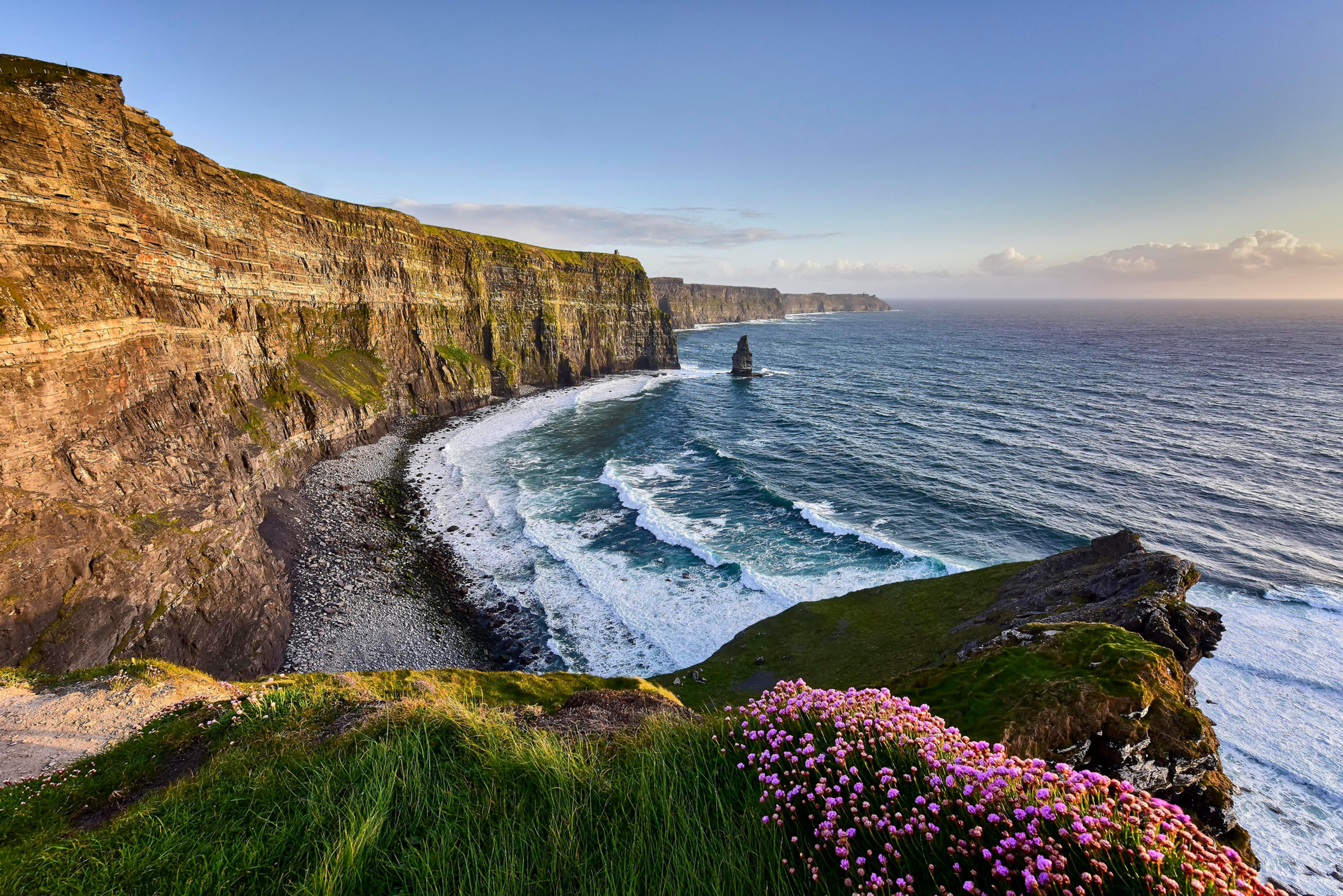 The Burren and Cliffs of Moher
