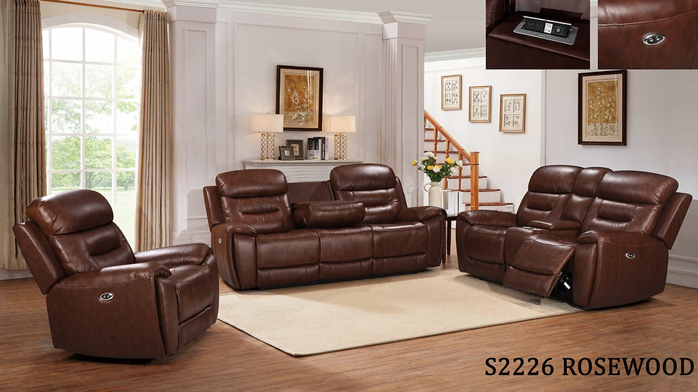 S2226 Rosewood (Top Grain Leather)