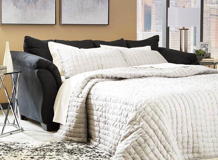 Ashley 75008 Sleeper Sofa (Black)