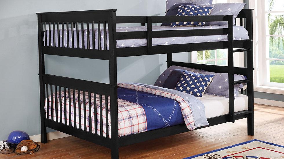 B81-BK Full/Full Bunk Bed