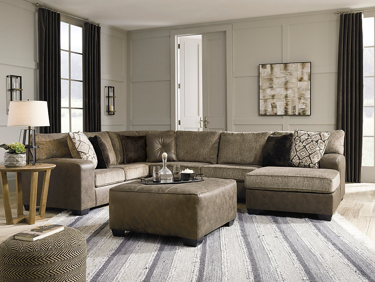 Ashley 91302 Abalone Sectional