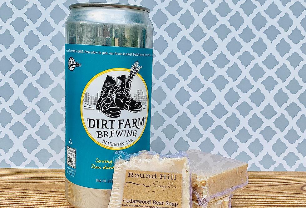 Cedarwood Beer Soap