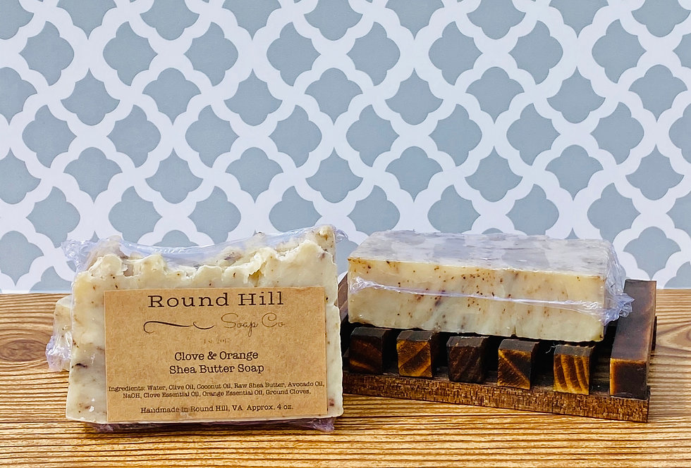 Clove & Orange Shea Butter Soap