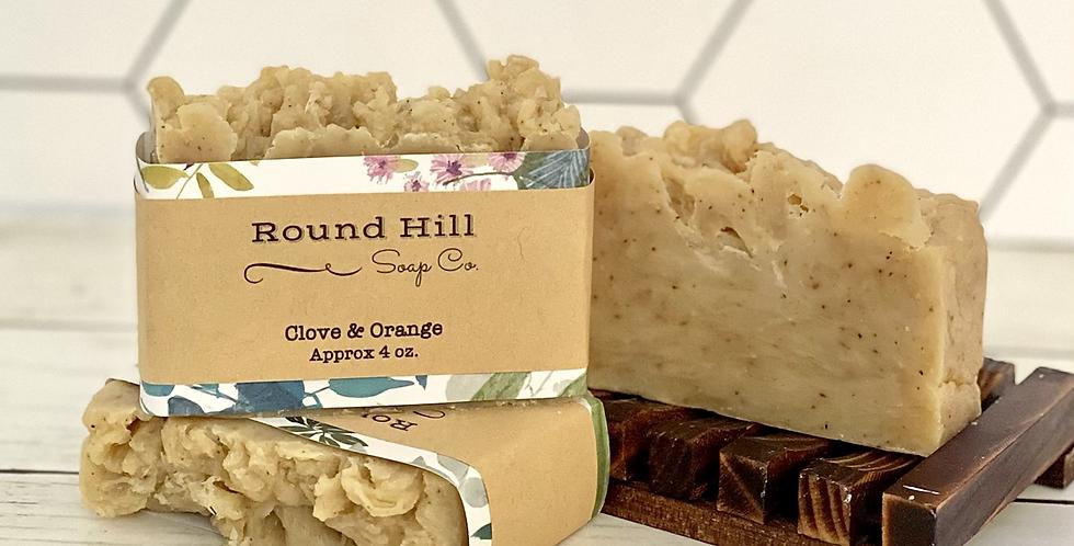Clove & Orange Shea Butter Soap