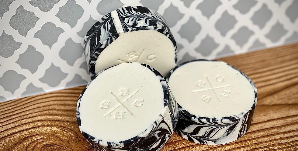 Peppermint Charcoal Beard Soap