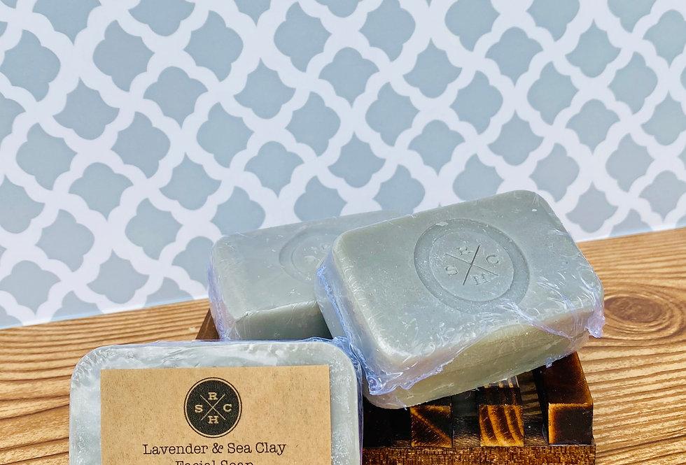 Lavender & Sea Clay Facial Bar
