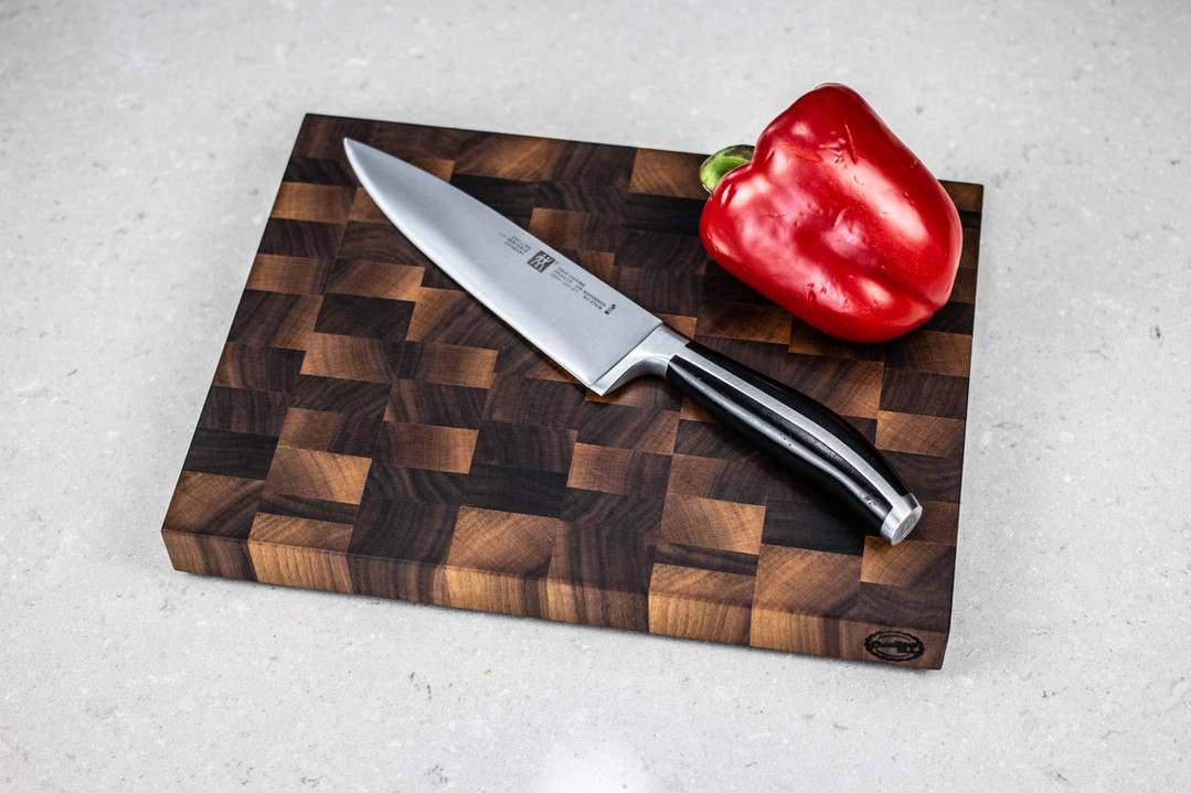 Black walnut end grain cutting board!