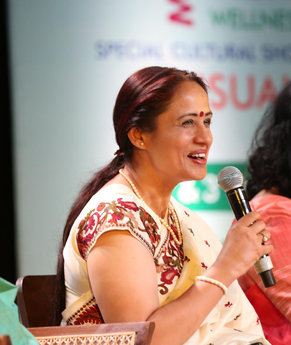 Indian woman bureaucrat