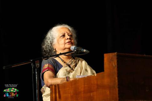 Valedictory address by playwright, poet and author, Poile Sengupta
