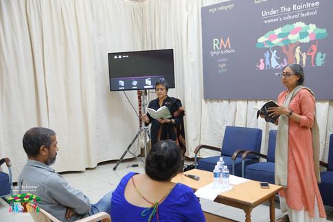 Poetry Session by Padmavati Rao & Mamta Sagar