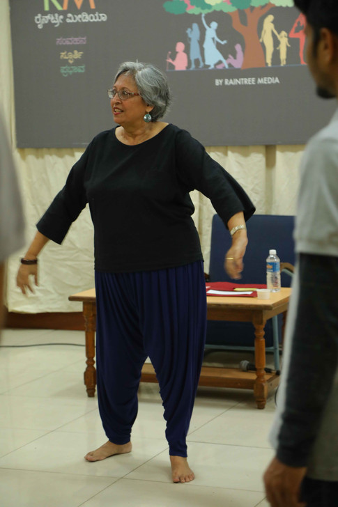 """""""You Can Act"""" - Theatre workshop with Arundhati Raja"""