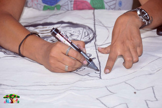Cell & I - Experiential Art Installation Workshop with Anuradha Nalapat