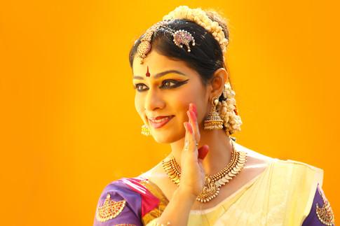 Anuradha Vikranth Bharatanatyam dancer
