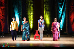 On My Own -a theatrical presentation by Rebecca Spurgeon, Bhavana Rajendran, Urvashi Goverdhan & Paramita Gupta. Devised & Directed by Arundhati Raja