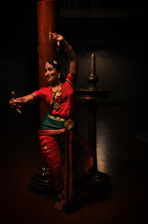 Vyjayanthi Kashi_ Kuchupudi dancer