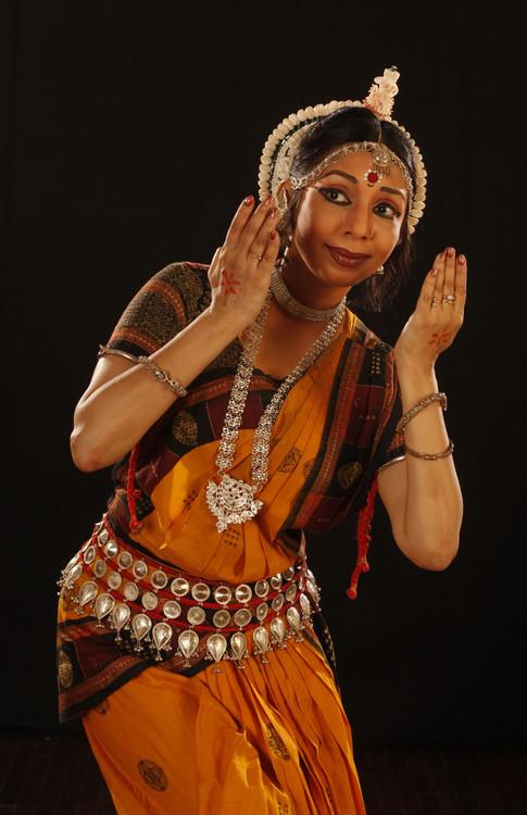 Sharmila Mukherjee _Odissi dancer