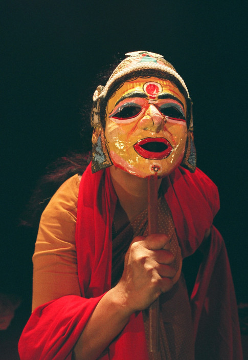 Laxmi Chandrashekhar's one-woman play _Just a woman_