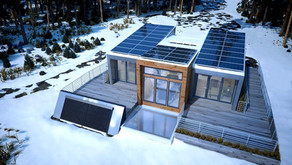 Solar Panels for Cold Climates - Do Solar panels work in Snow and during Winter