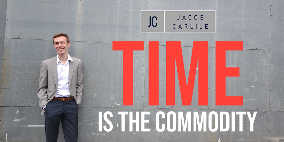 Time Is The Commodity   Toowoomba