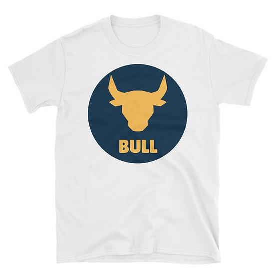 Success Merch Tee - Bull - White